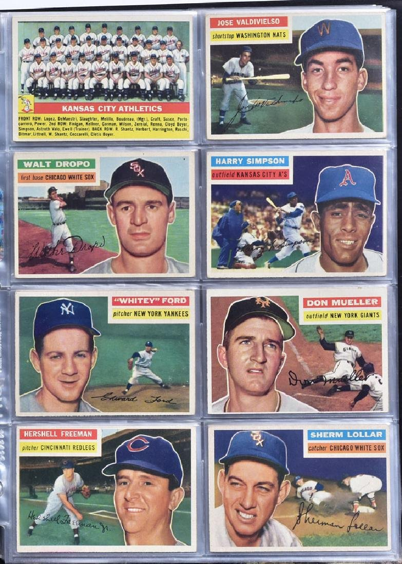 1956 Topps Baseball Card Set - 8