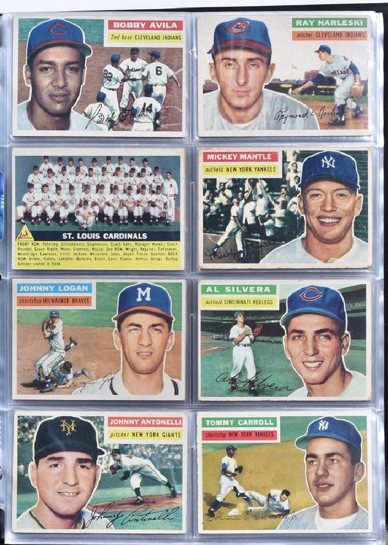 1956 Topps Baseball Card Set - 9
