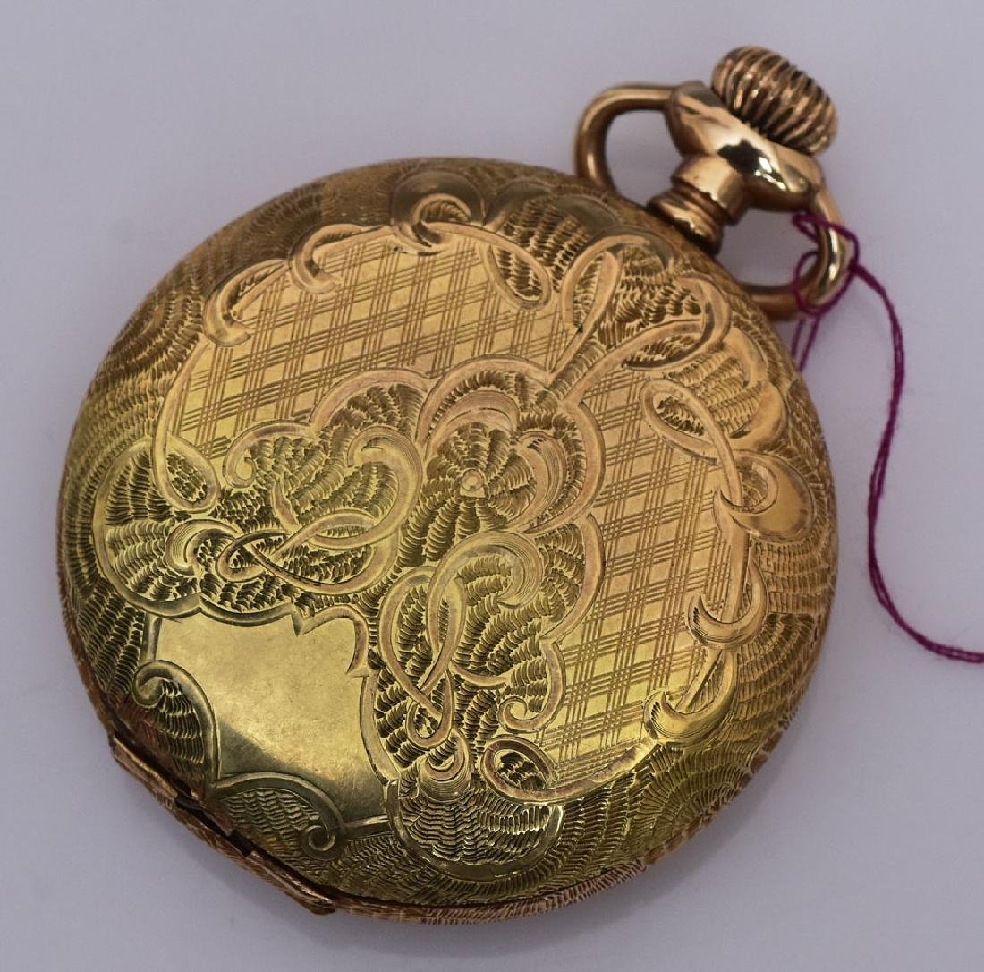 Elgin 14k Gold Pocket Watch - 2