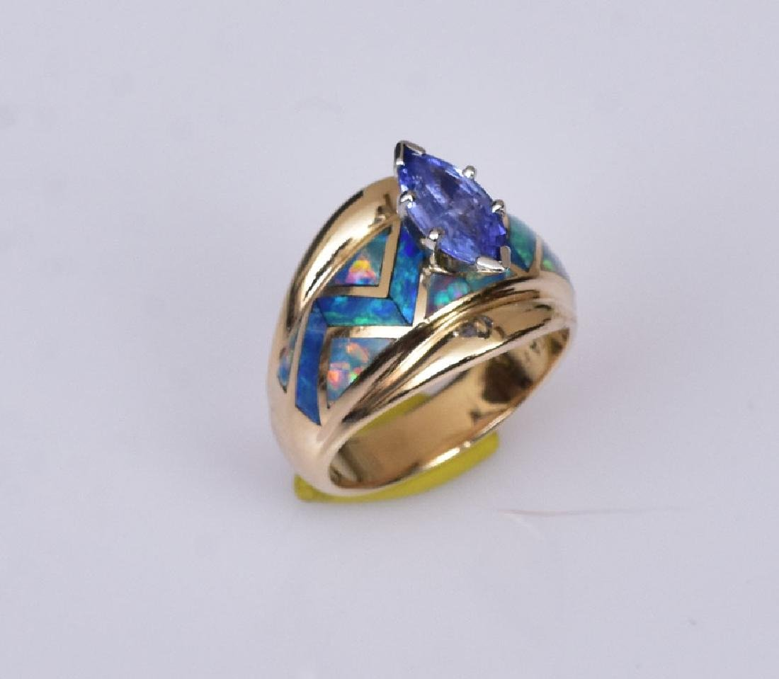 18k Gold David Griego Ring