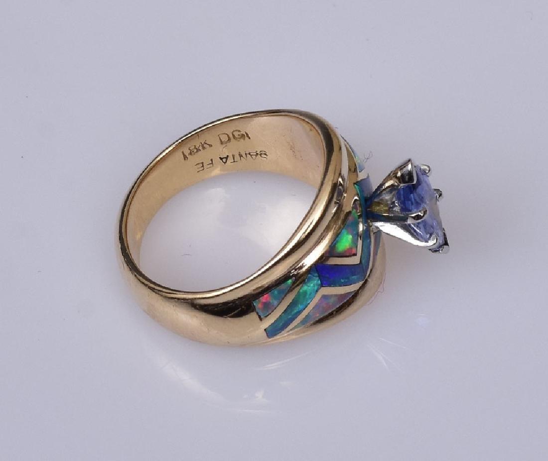 18k Gold David Griego Ring - 2