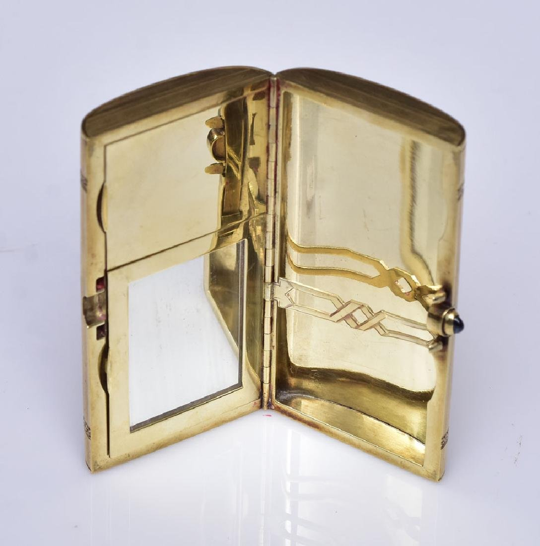 Schanfein and Tamis 14k Gold Compact - 2