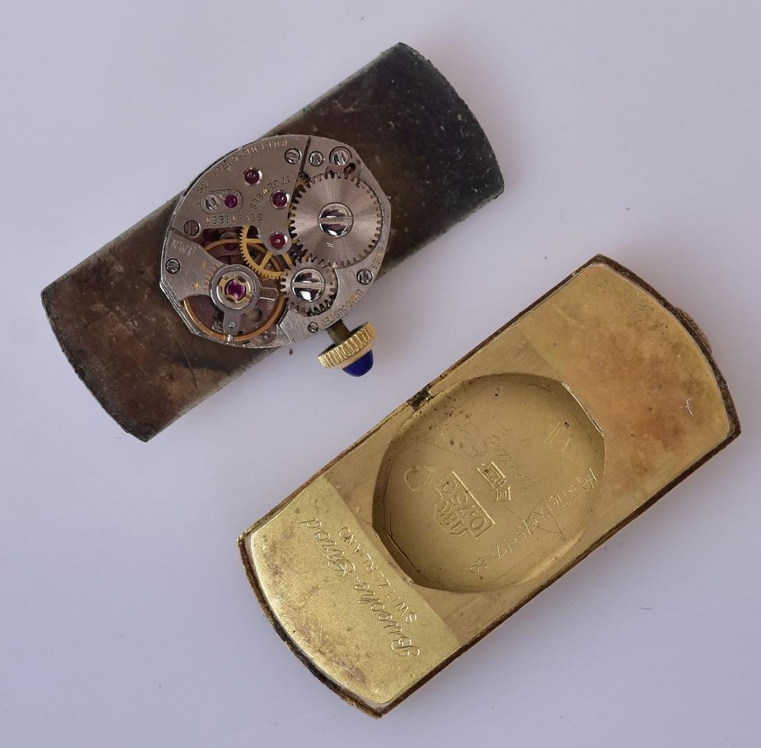 Cartier 18k Gold Curvex Wrist Watch - 4
