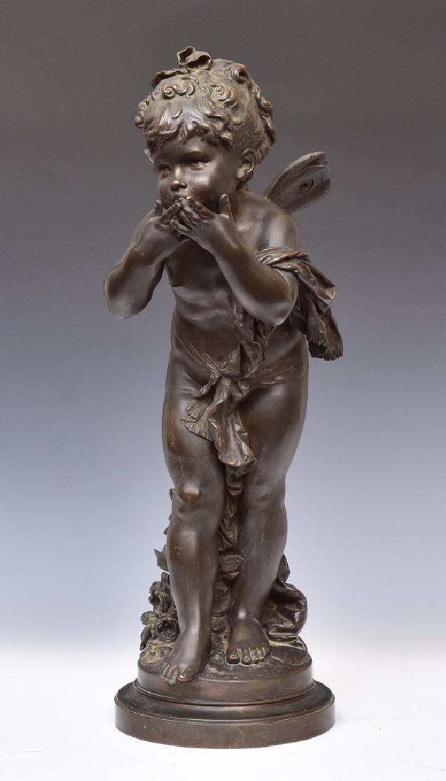 Bronze Figure of a Cherub