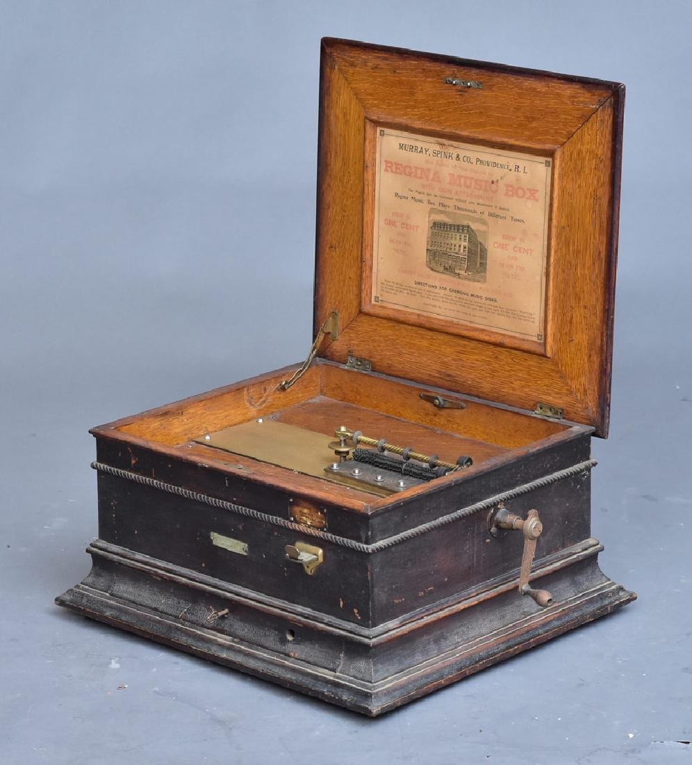 Regina Coin-Op Music Box