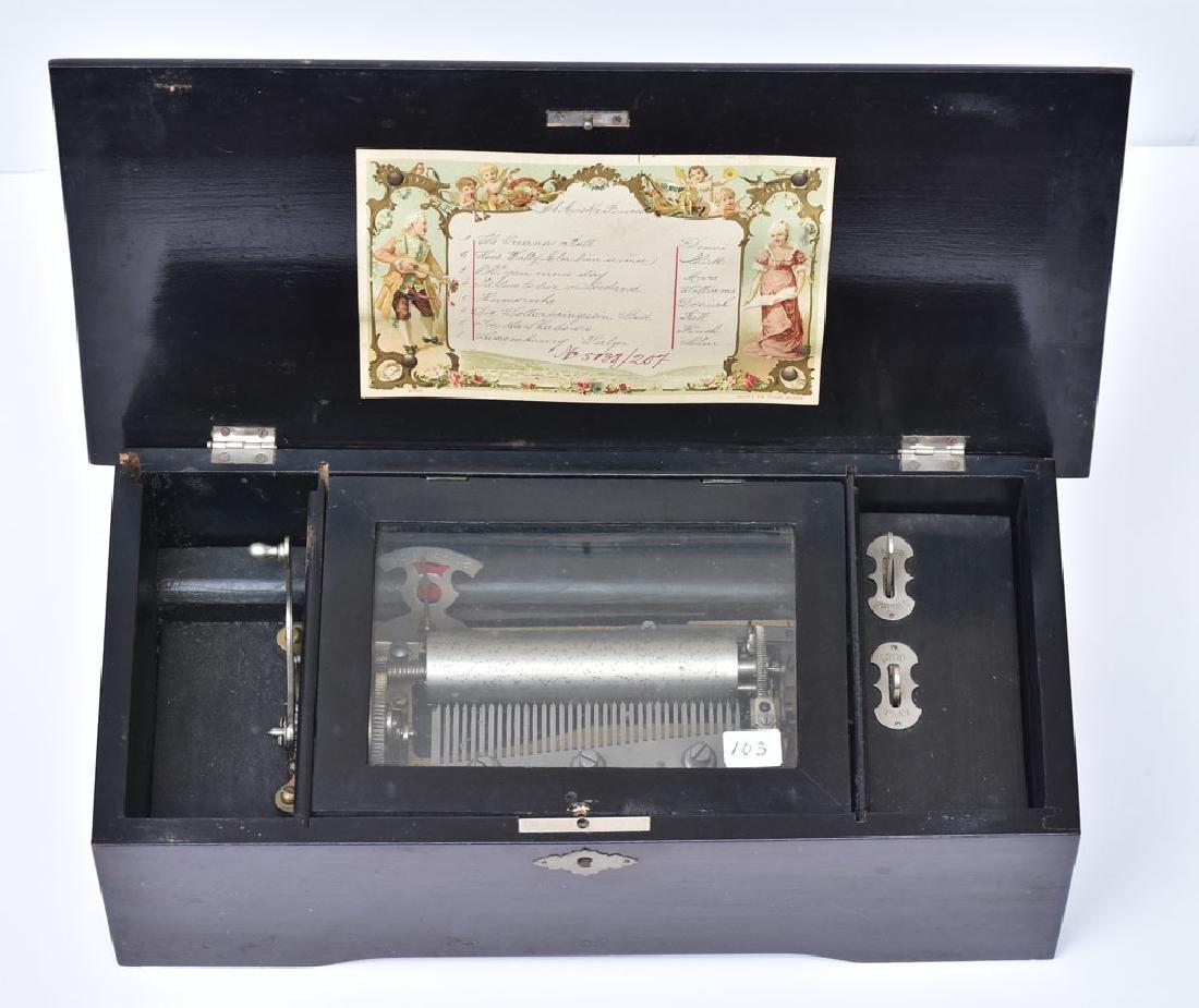Victorian Cylinder Roll Music Box