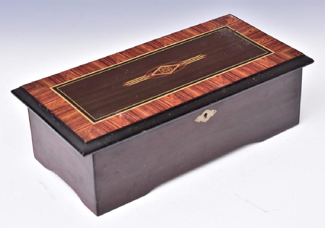 Victorian Cylinder Roll Music Box - 2