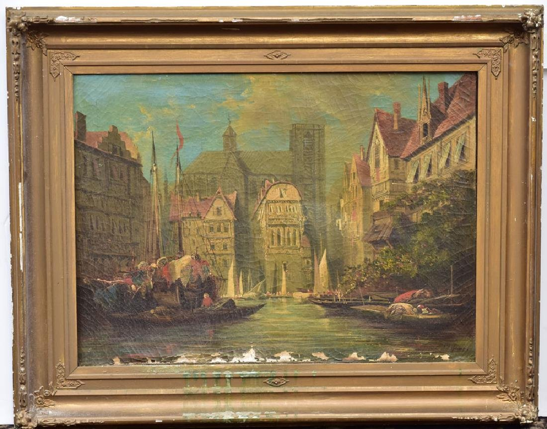 A View Of Ghent Holland
