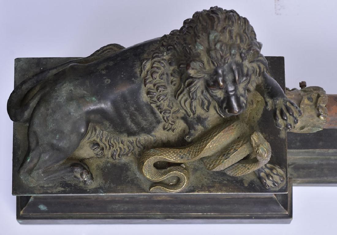 French Bronze Chenets - 5