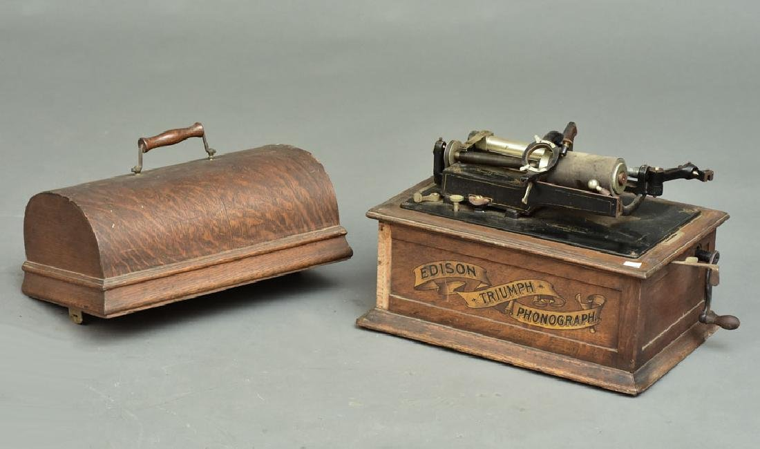 Edison Triumph Phonograph