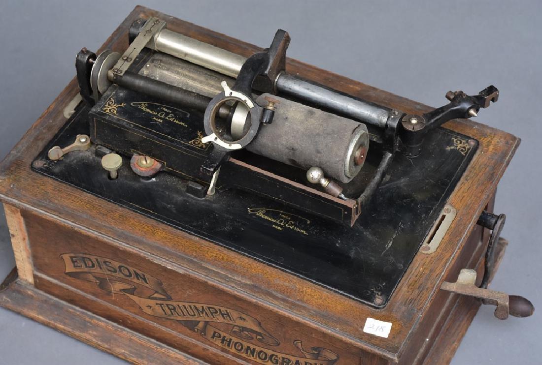 Edison Triumph Phonograph - 2