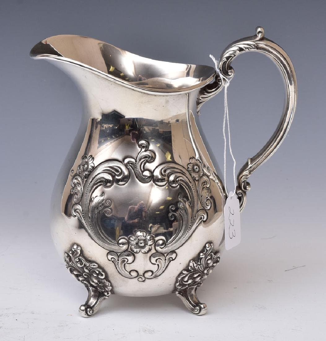 Sterling Silver Watch Pitcher