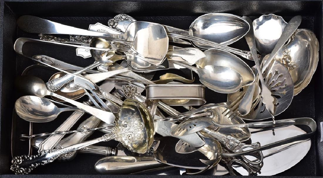 Group of Sterling Silver Flatware