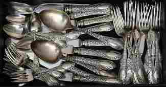 Watson Sterling Silver Partial Set of Flatware