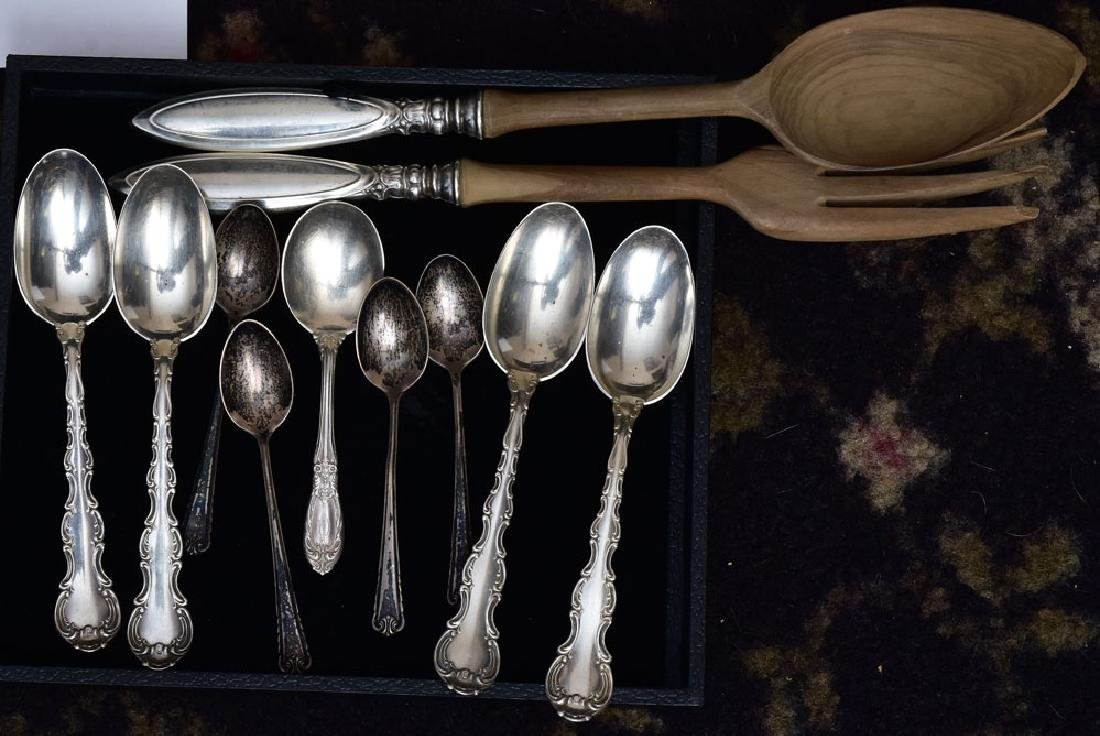 Watson Sterling Silver Partial Set of Flatware - 2