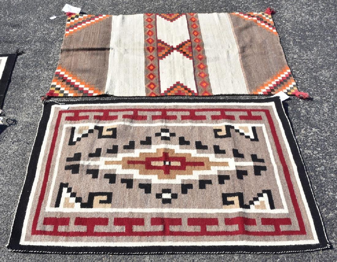 Two Navajo Weavings
