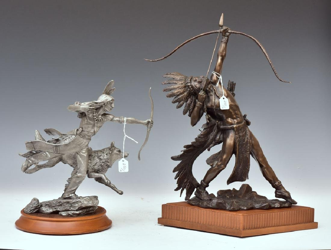 Two Western Sculptures