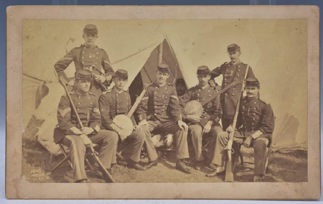Civil War Era Camp Scene