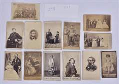 Collection of 12 CDVs