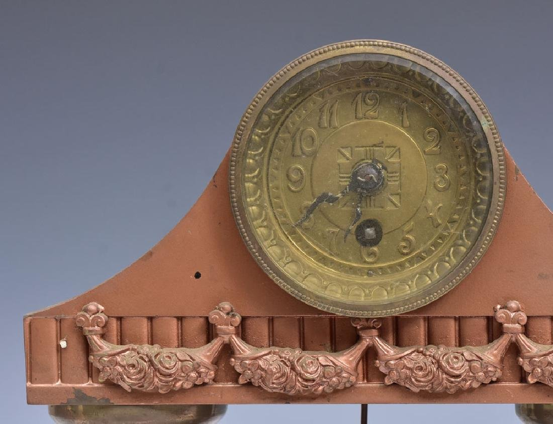 Pair of Secessionist Mantel Clocks - 2