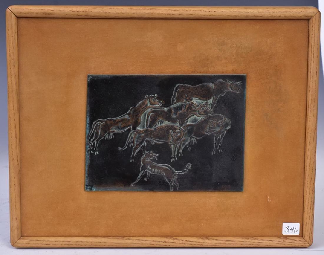 Cast Bronze Panel - 2