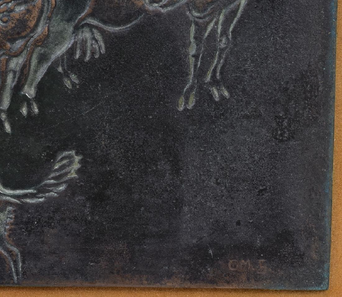 Cast Bronze Panel - 3
