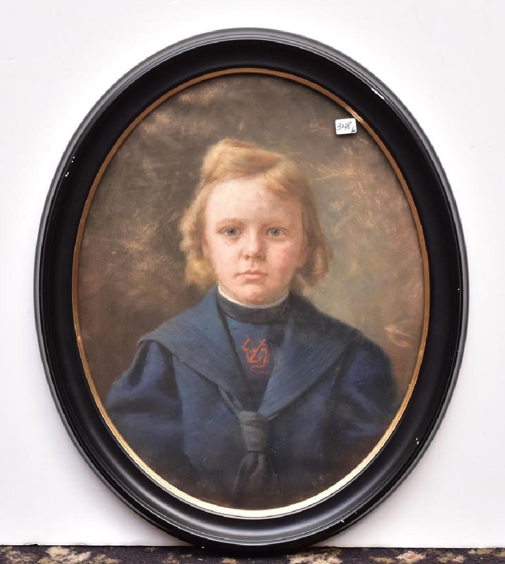 Two Victorian Portraits of Children
