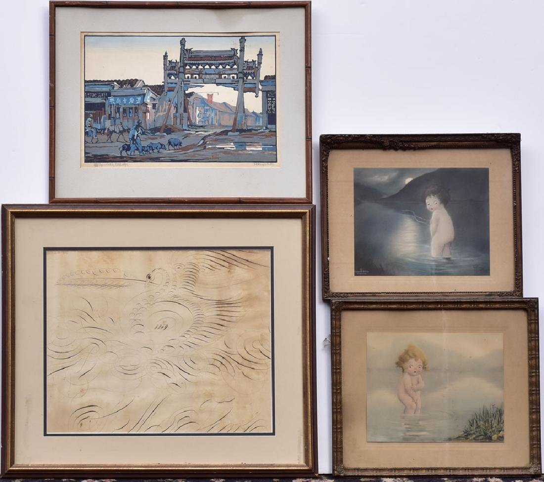 Four Framed Pictures