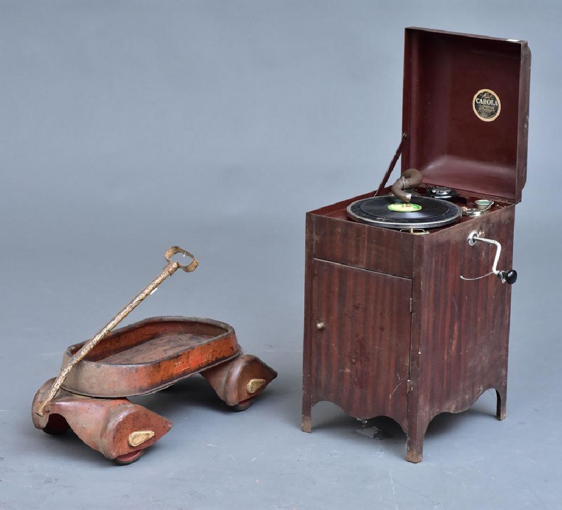 Child's Toy Carola Phonograph