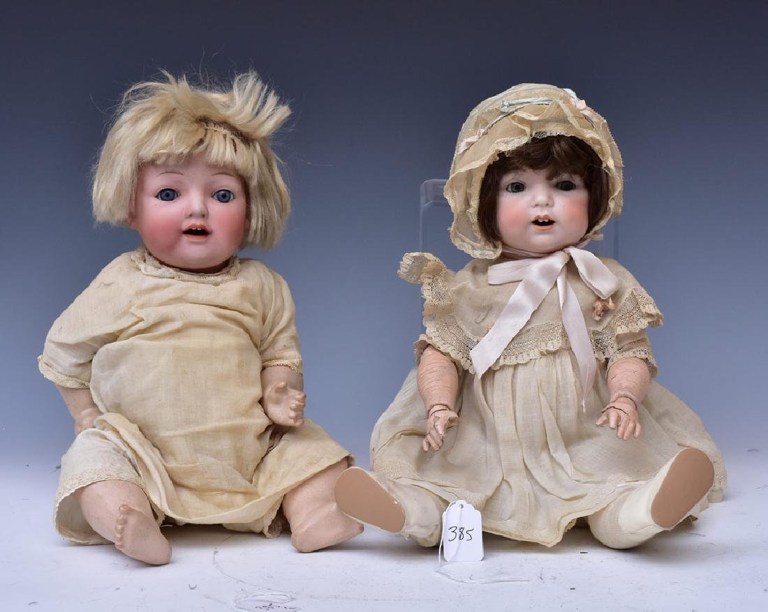 Two Bisque Character Dolls