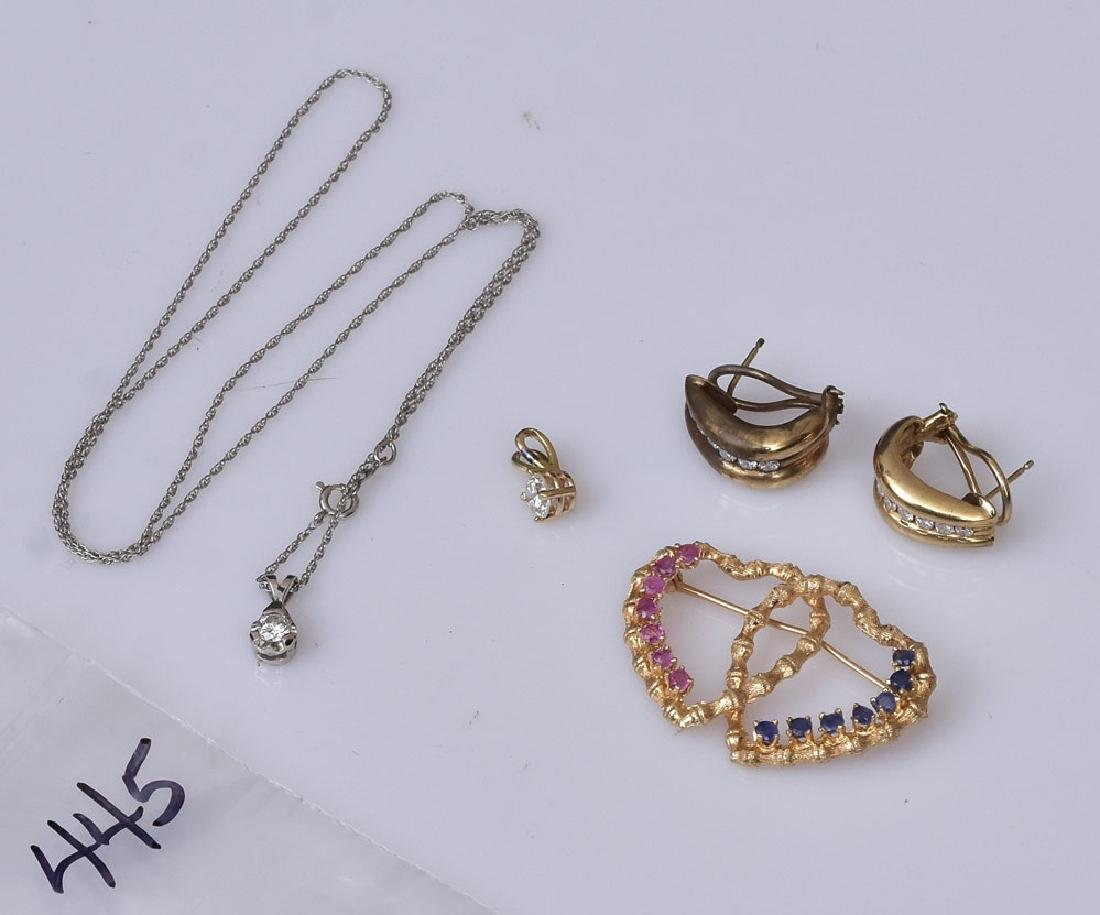 Group of 14k Gold Jewelry