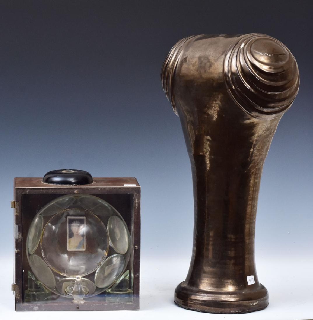 Two Modern Sculptures