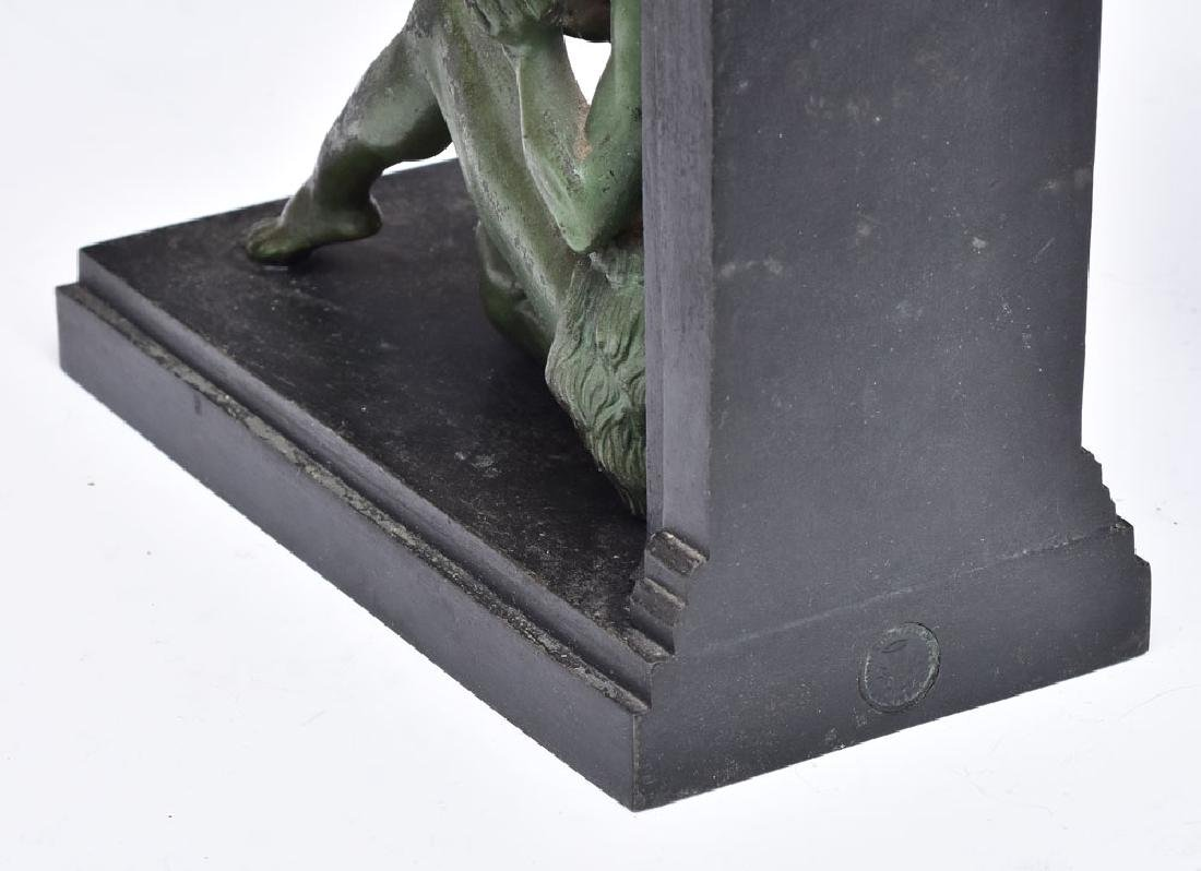 French Art Deco Figural Bookends - 2