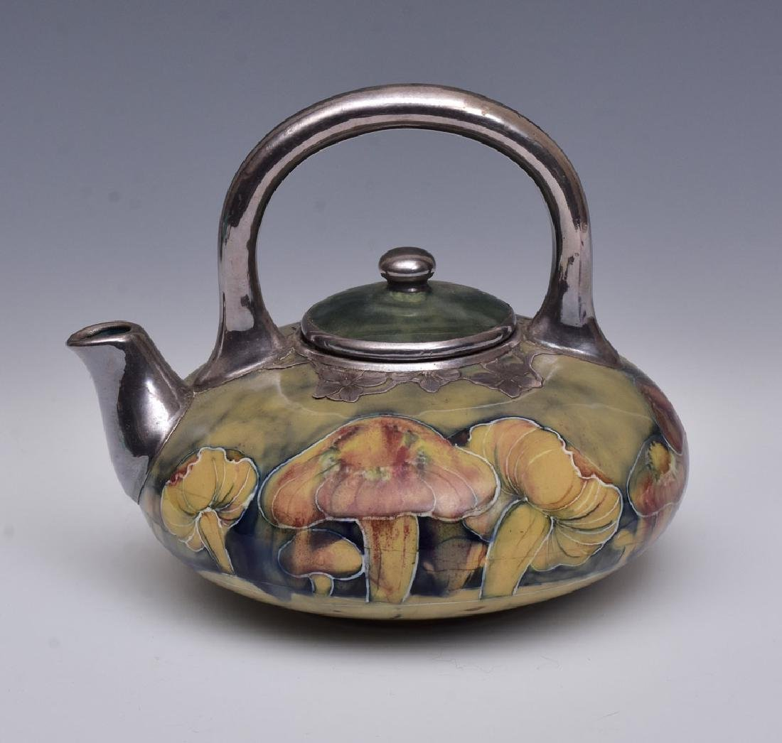 Moorcroft Claremont Toadstool  Tea Pot