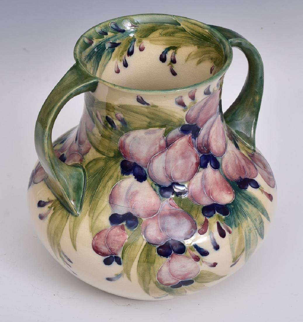 Moorcroft Wisteria with Plums Vase - 3