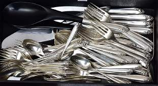 Partial Set of Wallace Sterling Silver Flatware