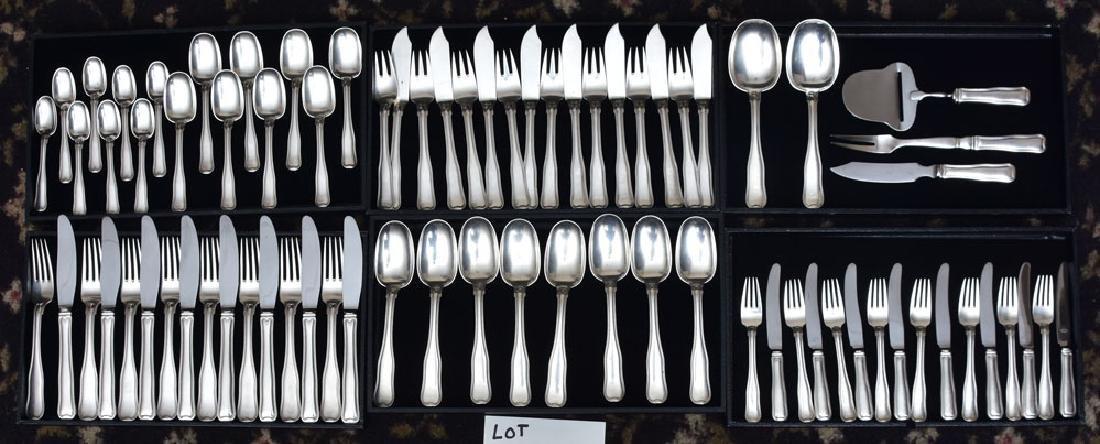 Georg Jensen Partial Sterling Silver Flatware Set - 2