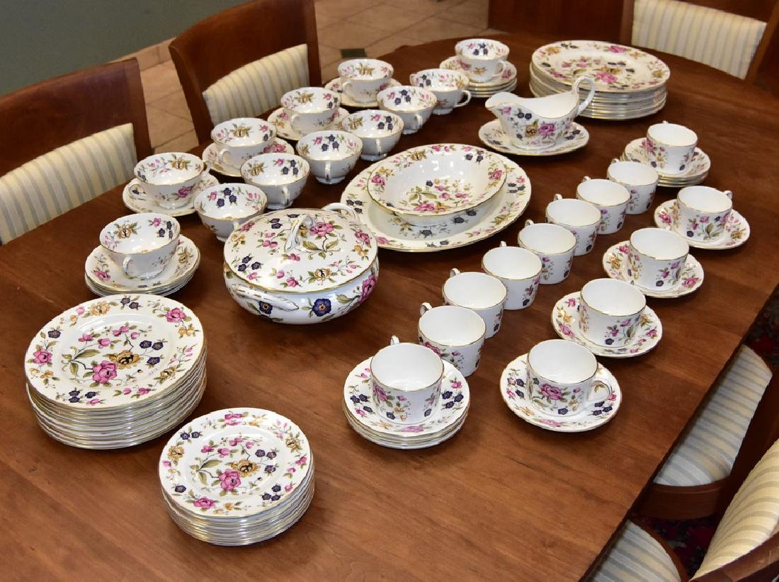 Partial Set of Coalport China