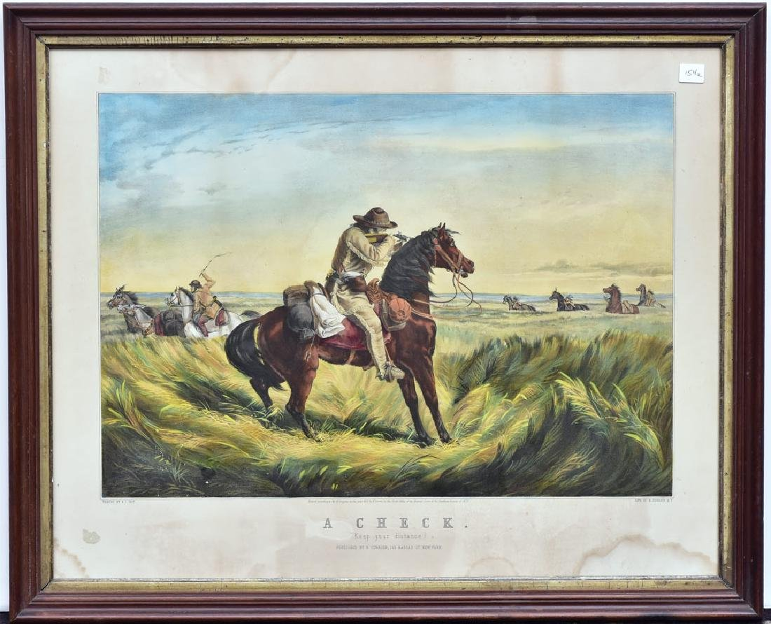 Currier & Ives Stone Lithograph
