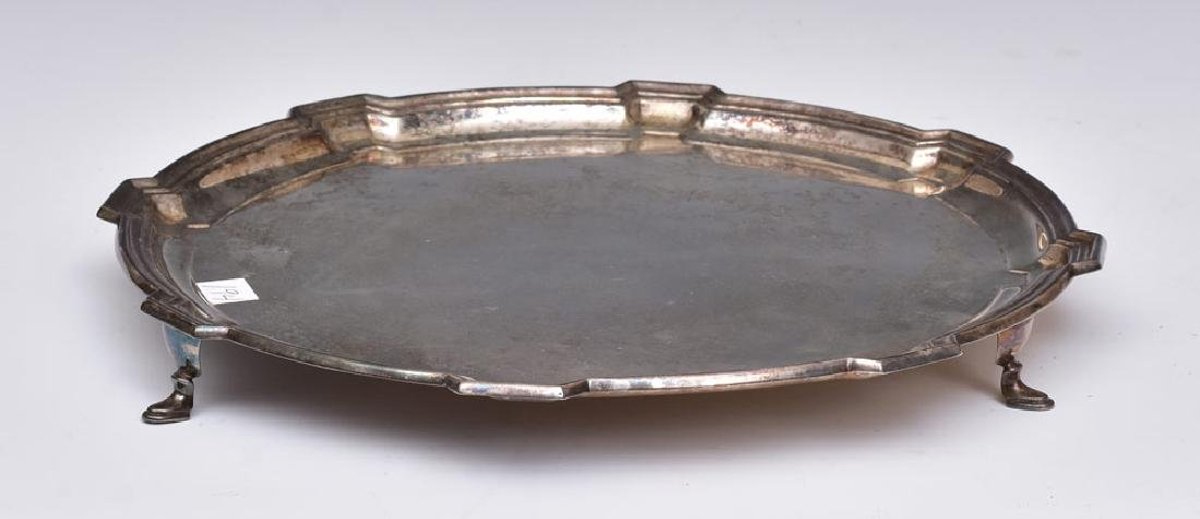 English Sterling Silver Salver - 3