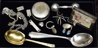 Group of Tiffany  Co Sterling Silver