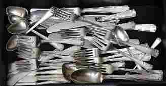 Partial Set Gorham Sterling Silver Flatware