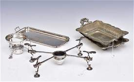 Group of Sterling Silver Table Ware