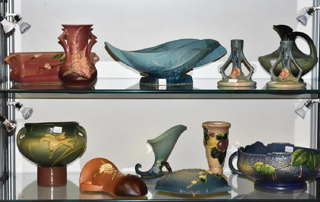 Group of Roseville Pottery