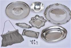 Group of Sterling Silver Holloware