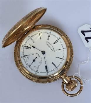 American Waltham 14k Gold Pocket Watch