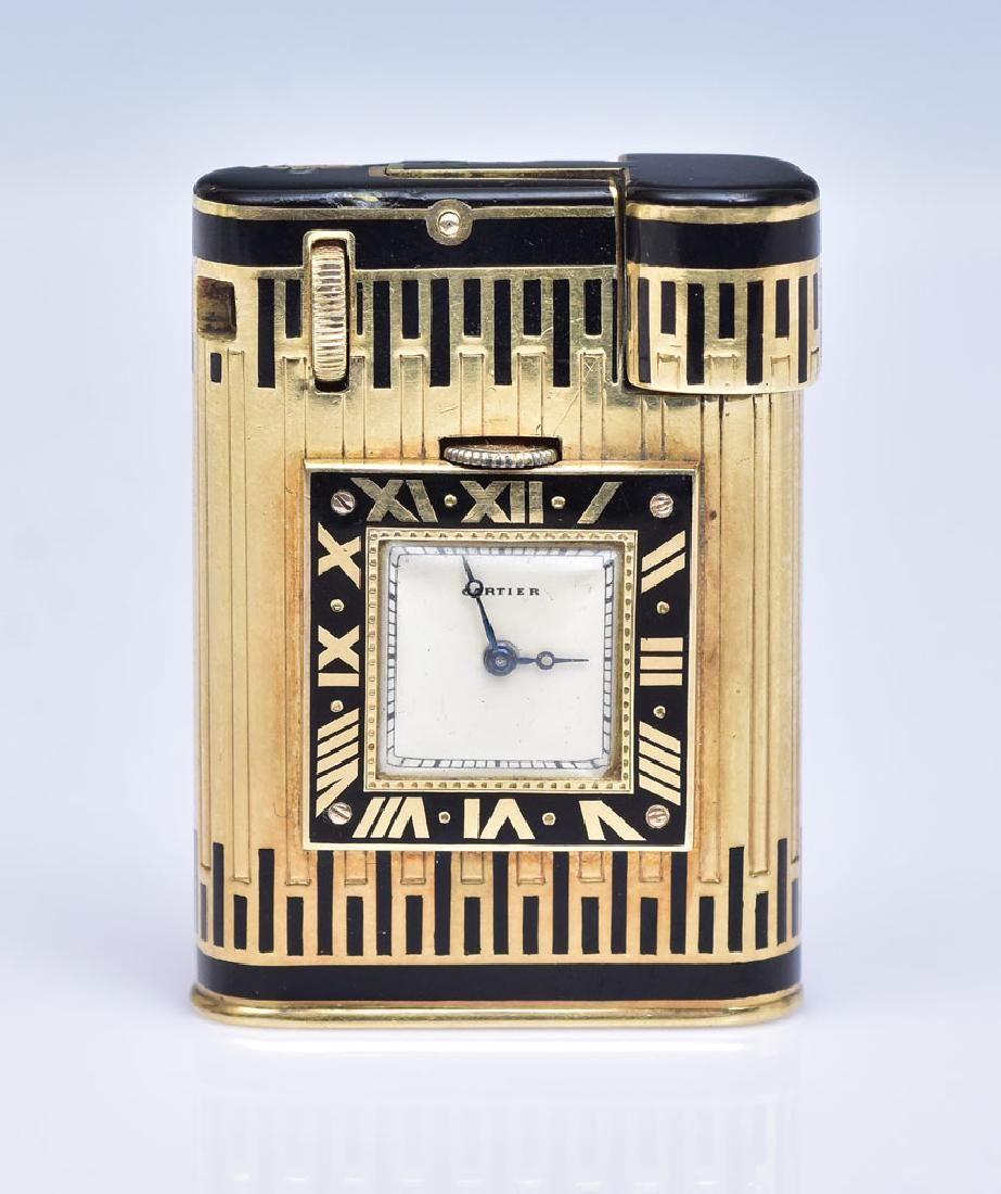 Cartier 18k Gold Lighter Watch