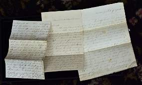 Group of Civil War Letters