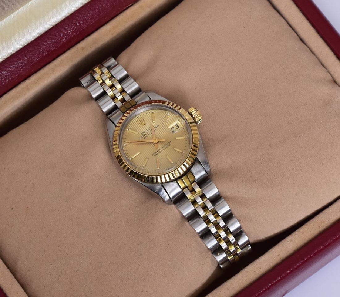 Rolex Two-Tone Ladies Wrist Watch