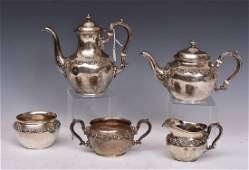Gorham Sterling Silver Tea Set
